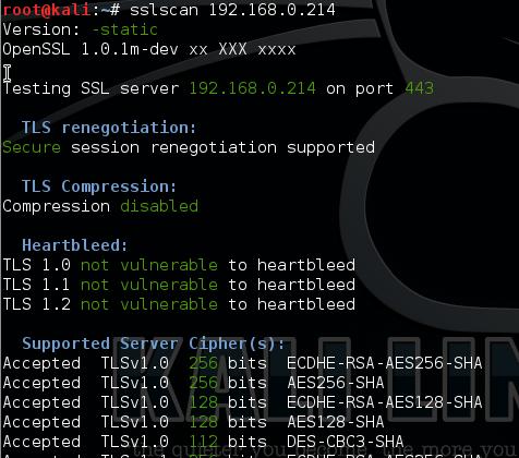 Changing SSL/TLS Cipher Suites