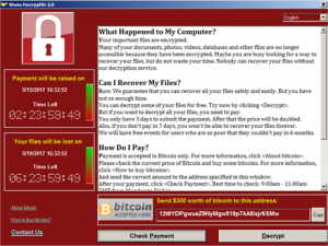 WannaCry WannaCrypt WanaCrypt0r 2.0