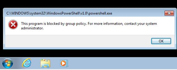 blocking powershell exe Archives - IT on the Couch