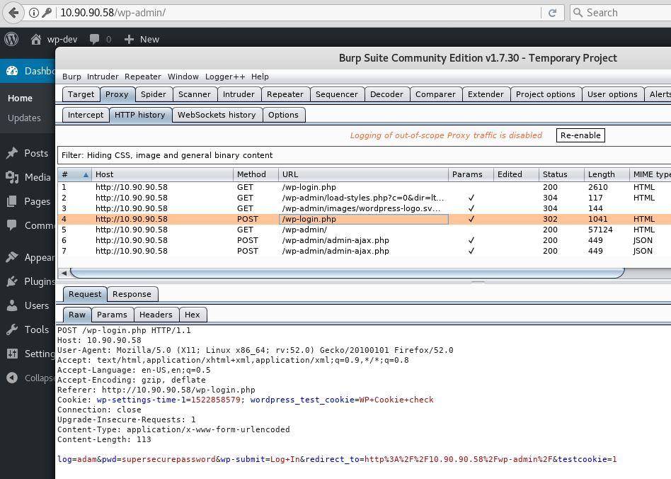 Burp Suite Macro: Auto Login (session re-authentication)